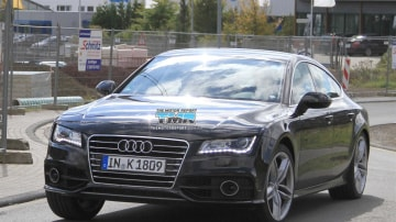2011 Audi S7 Spied Testing In Europe
