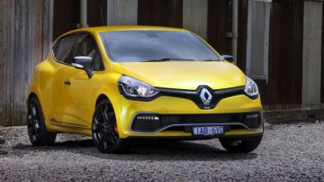 2013 Renault Clio RS Cup Trophy.