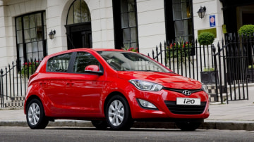 Hyundai has heavily discounted its pint-sized i20 passenger car (Elite model pictured).