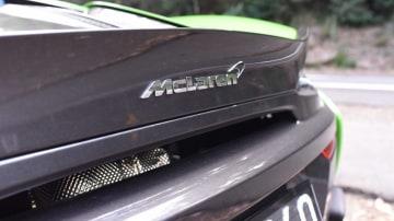 2017 McLaren 570S.