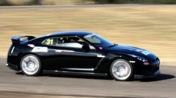 Godzilla attacks! R35 GT-R goes racing at Superlap Time Attack