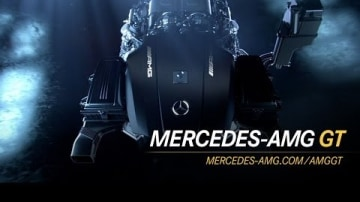 Mercedes AMG GT's Brand-New 375kW Turbo V8 Revealed