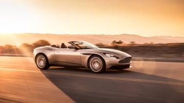 2018 Aston Martin DB11 Volante.