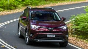 Mid-size SUV comparison: Toyota RAV4