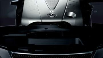 Lexus IS350 engine.