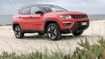 2018 Jeep Compass Trailhawk.