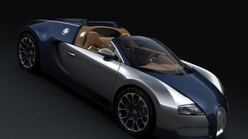 Bugatti Veyron Grand Sport Sang Bleu Unveiled At Pebble Beach Concours d'Elegance