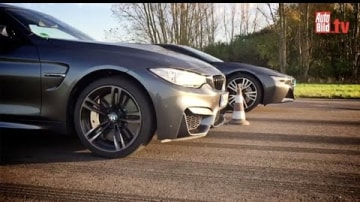 M4 And i8 Fight It Out In All-BMW Drag Race: Video
