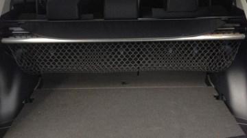 Toyota RAV4 rear seats.