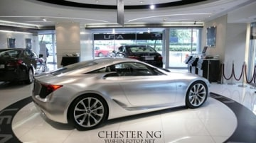 Photo Of The Day: What If The Lexus LF-A Made It To Showrooms?