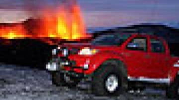 HiLux conquers Iceland volcano