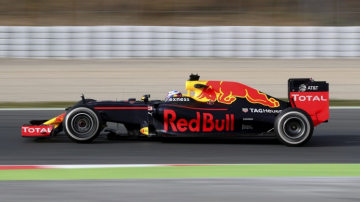 Aston Martin has been linked to Formula One team Red Bull.