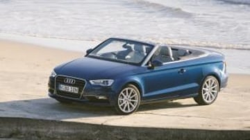 Hot stuff: Audi's new A3 Cabriolet is much better than its predecessor.