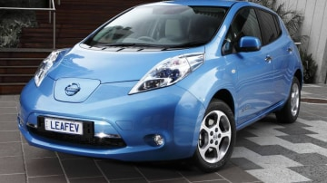 Nissan LEAF Pre-release Review