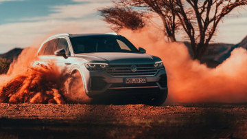 Volkswagen Touareg international preview drive