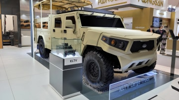 Kia's Hummer rival: Light Tactical Cargo Truck military concept unveiled