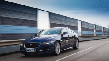 Right car, right time: The new Jaguar XE will do battle against the Mercedes C-Class and BMW 3-Series.