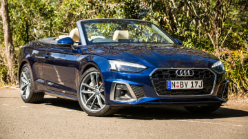2020 Audi A5 45 TFSI Cabriolet review