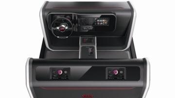 Kia technology revealed at CES 2014.