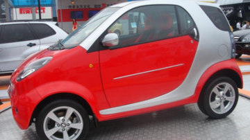 Chinese car maker Shuanghuan upset Mercedes-Benz in 2007 with this imitation of the Smart.