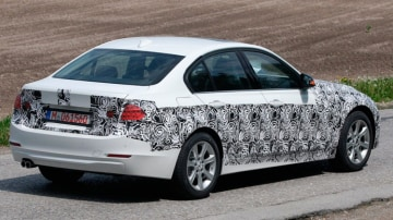 Drive's spy photographers have caught a glimpse of BMW's next-generation 3-Series.