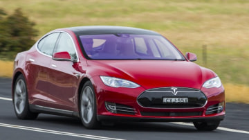 A Tesla Model S sedan was involved in a fatal crash in the United States.