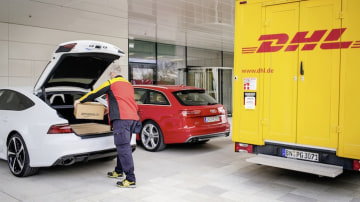 Audi Partners With Amazon, DHL On Direct-To-Car Delivery
