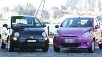 Head to Head: Fiat 500 Pop v Mitsubishi Mirage ES