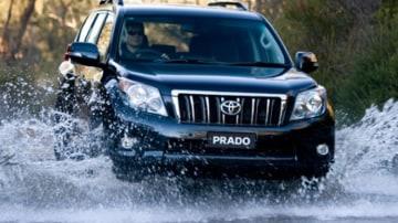 The Toyota Prado.
