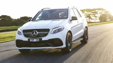 German brand's large SUV gets a fresh look and name change with its new Mercedes-AMG GLE63 S replacing the ML63 AMG.