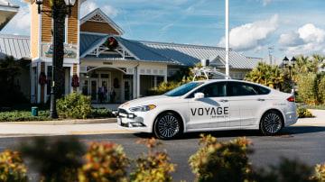 Jaguar Land Rover invests in autonomous taxi start-up.