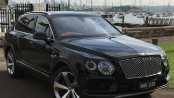 Bentley Bentayga first drive review