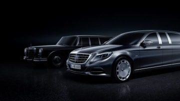 Mercedes-Maybach S-class Pullman revealed