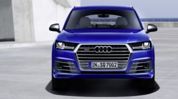 Audi has shown off its new SQ7 high-performance diesel SUV.