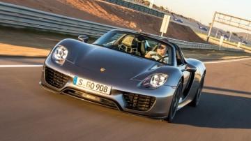 Porsche 918 Spyder.