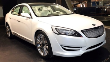Kia VG / KND-5 Concept Unveilled At Seoul Motor Show