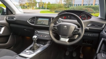 Peugeot's interior is beautifully executed.