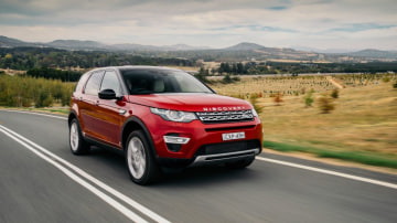Capable but smart: The Land Rover Discovery Sport.