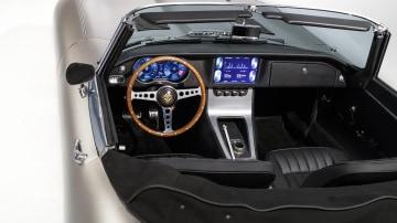 Interior of Jaguar E-Type Zero