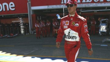 Michael Schumacher. Picture: Getty Images