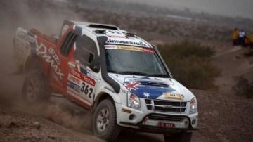 Garland MotorSport Isuzu D-Max; Dakar's Top Finishing Diesel Ute