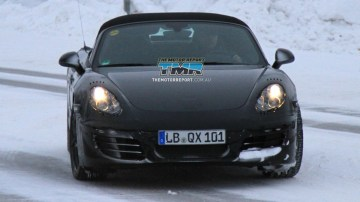 2012 Porsche Boxster Spied Lapping The Nurburgring