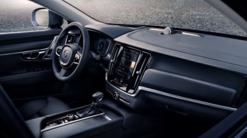 The Cross Country's cabin features modern driver aids and a tablet-style touchscreen.