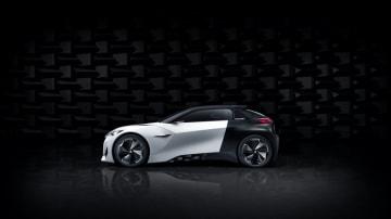 Peugeot revealed its Fractal concept at the 2015 Frankfurt motor show.
