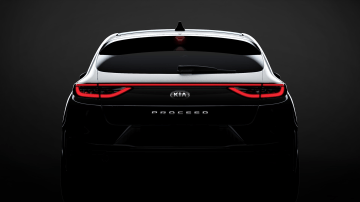 Kia teases new-look ProCeed