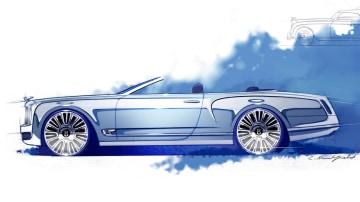 Bentley Teases Mulsanne Convertible