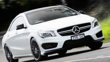 Mercedes-Benz CLA45 AMG quick spin review