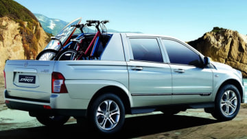 Ssangyong's upcoming replacement for the Actyon ute – to be called Korando Sports.