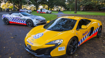 McLaren 650S And Aston Martin Vanquish Volante Report For Duty With NSW Police
