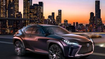 Lexus UX concept.